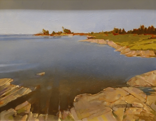 "Graham Stuart ""Honey Harbour Georgian Bay"" Paint Ontario 2015 Honourable Mention"