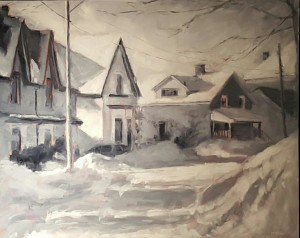 "Second Prize ""January Morning -24C, Goderich"" by Michele Miller"